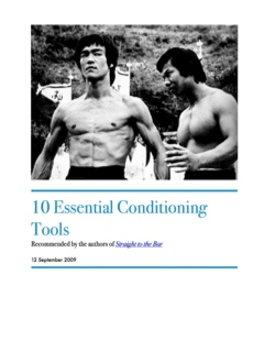10 Essential Conditioning Tools