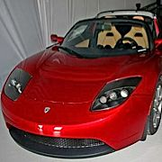 electric car Tesla Roadster