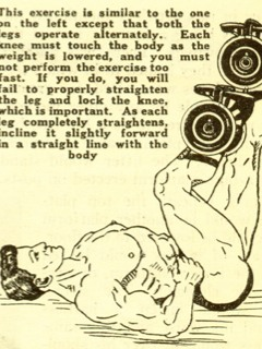 Alternating Leg Press with Iron Boots