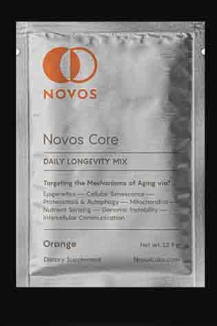NOVOS Core Anti-Aging Supplements